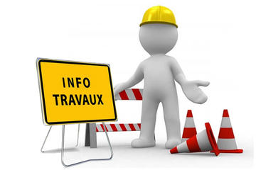 ATTENTION : TRAVAUX !
